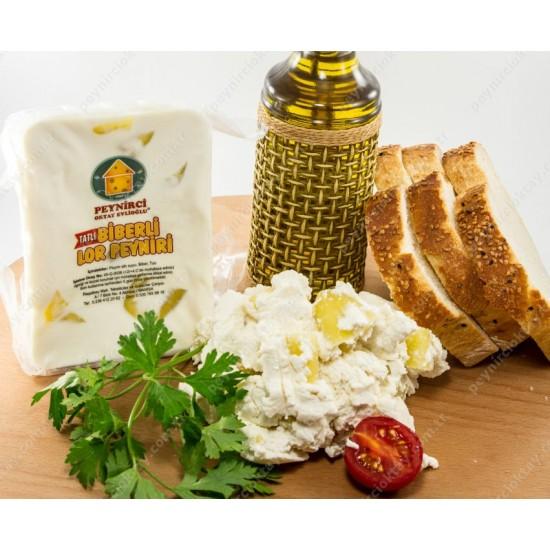 Tatlı Biberli Lor Peynir 500 Gr.